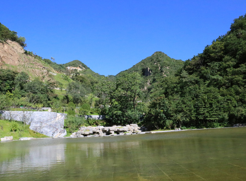 九公山长城纪念林景色