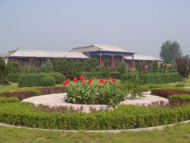 高静园公墓景色