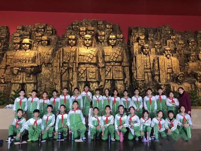 芳草地国际学校日坛校区五年级同学来到抗日战争纪念馆参观