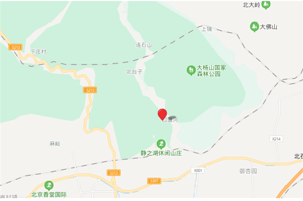北京昌平区桃峰陵园位置