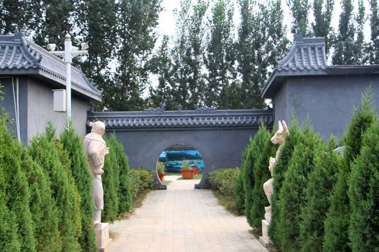 永福墓园传统墓型