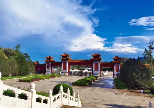 北京天寿园景观